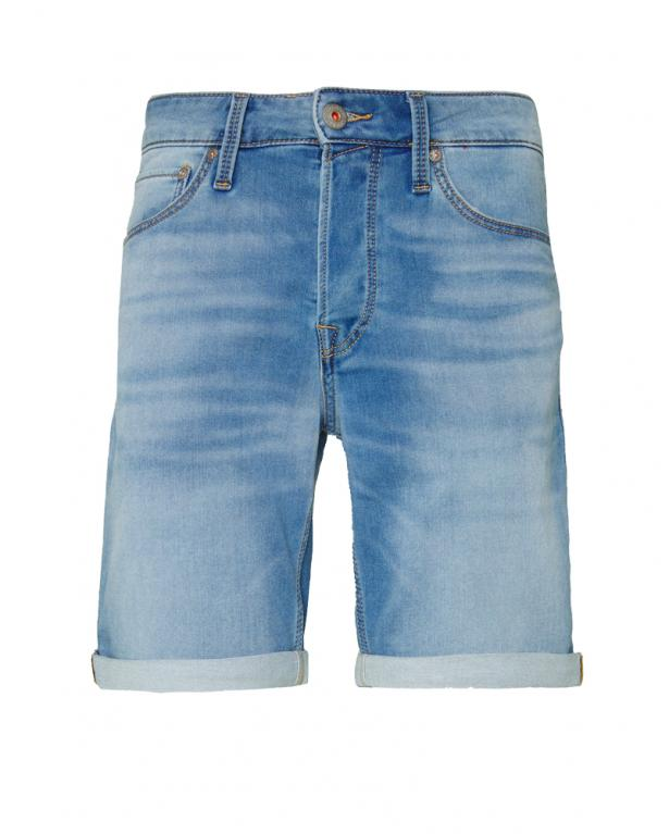 Modern Jeans Shorts in Indigo Knit by Jack &Jones