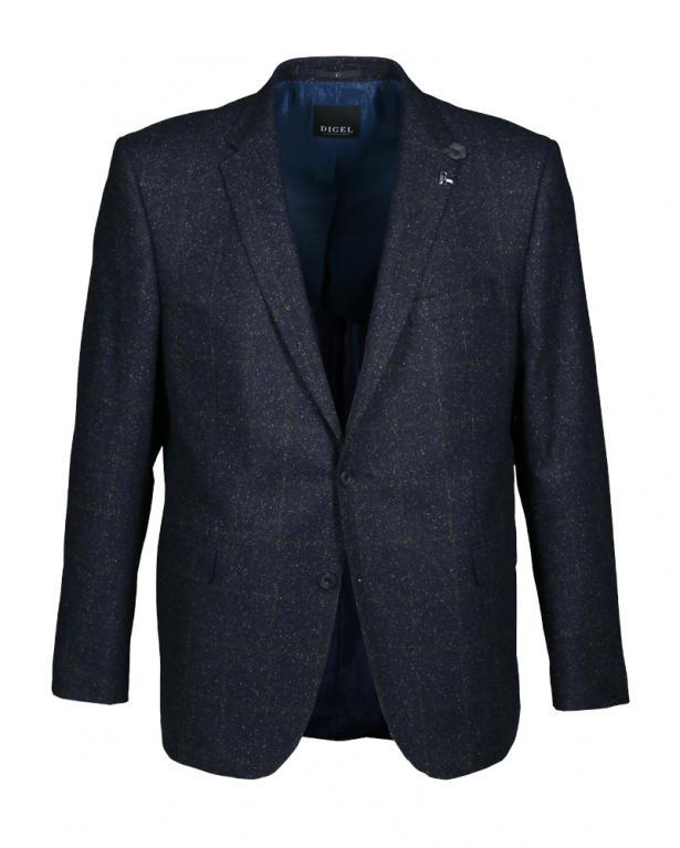 Digel Casual-Sakko in Tweed-Optik