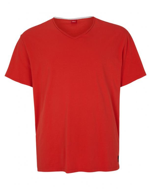 V- Neck Jersey- Shirt