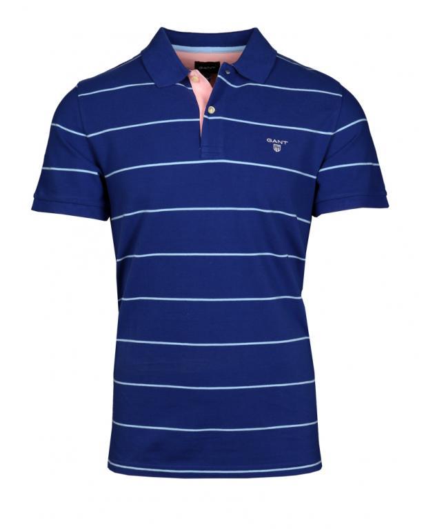 Modisches Piqué-Poloshirt mit  Kontrastdetails