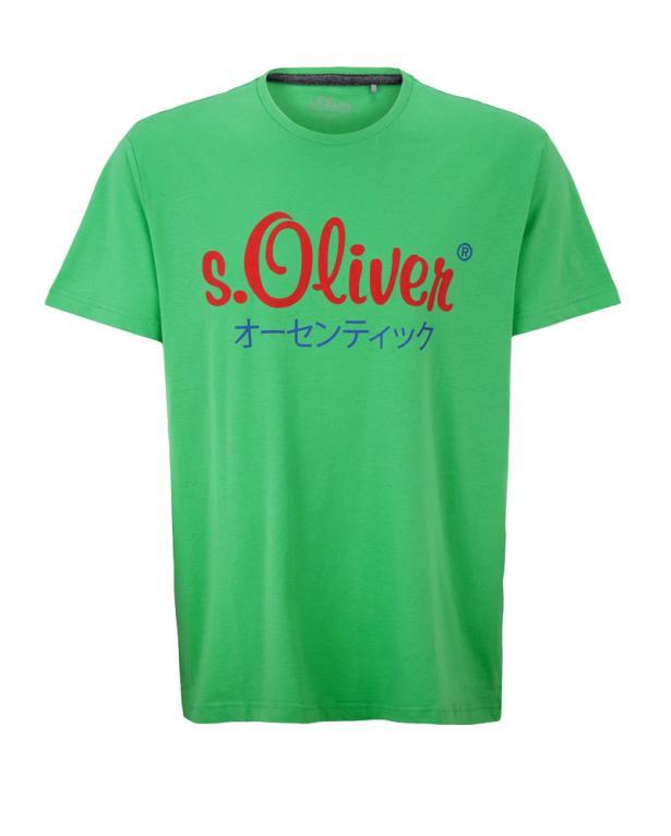s.Oliver Jerseyshirt mit Labelprint