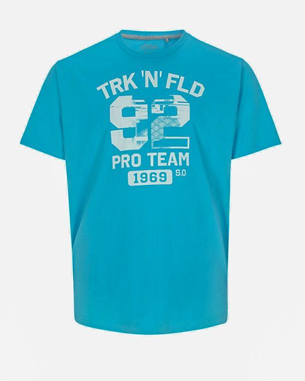 Weiches T-Shirt mit Print von s.Oliver