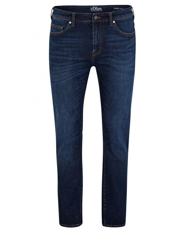 s.Oliver Denim-Jeans Relaxed Fit: Hyperstretch-Denim marine | 46/34