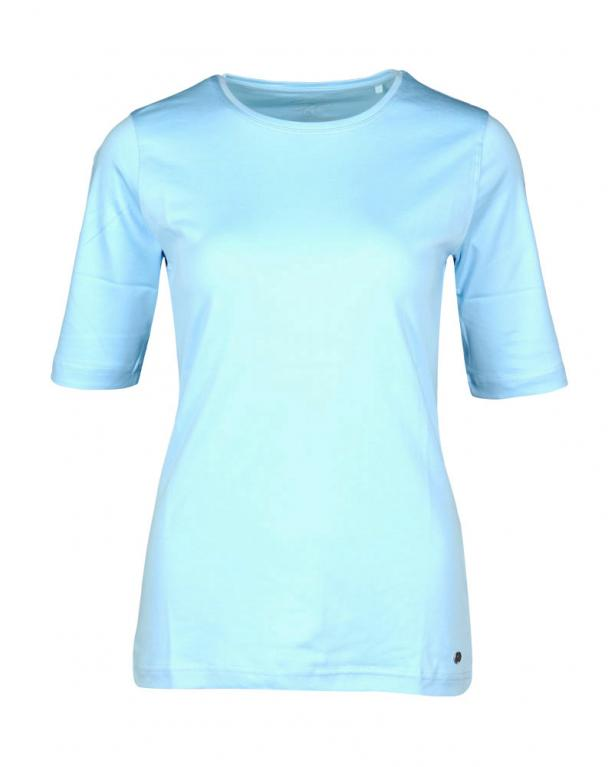 Clarina Basic T-Shirt hellblau | 48