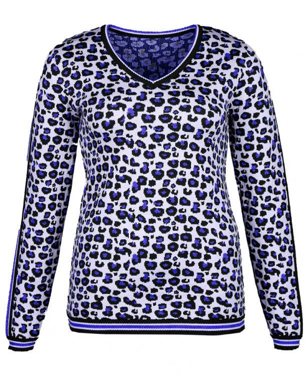Kremer Pullover im Leoprint