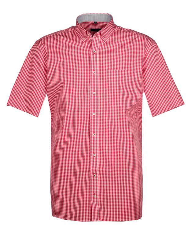 Button Down Shortsleeve Shirt, Comfort Fit