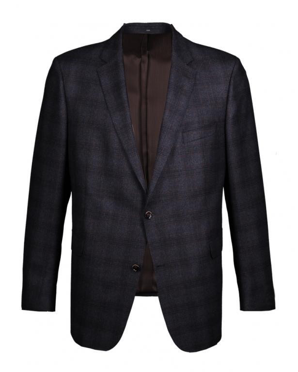 Glencheck Sakko 'Merano', Super 100S', Comfort Fit