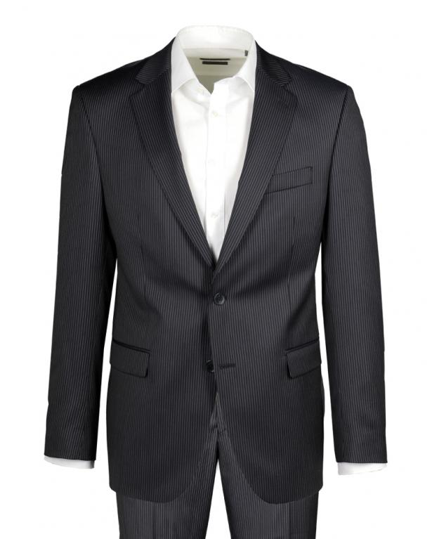 Pinstripe Suit in 110'S Quality