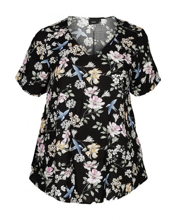 Zizzi Florales T-Shirt