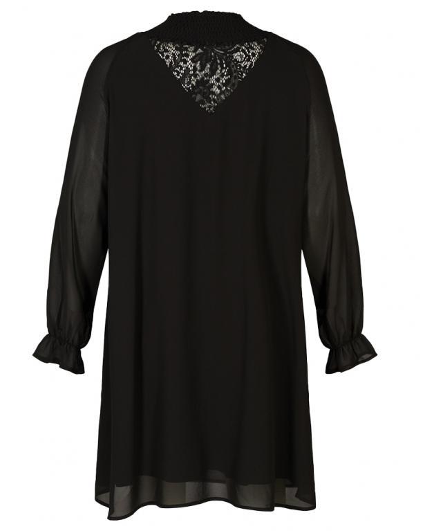 Zizzi elegantes Kleid mit Spitzendetail